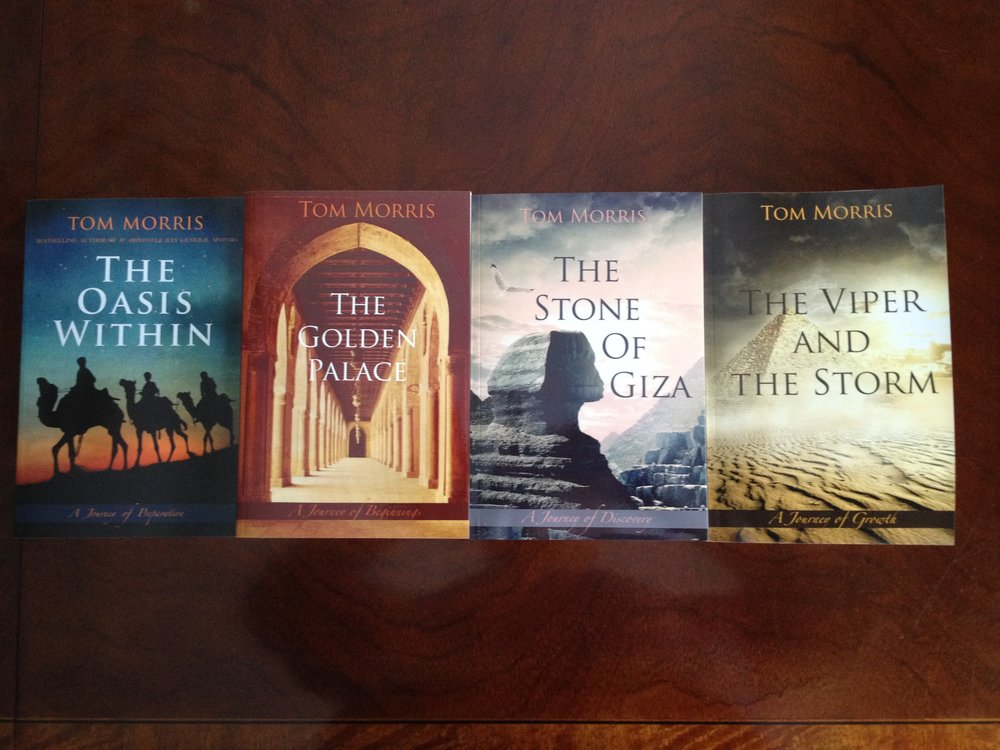 The first four of the eight or more books underway, in the new Philosophical Fiction genre of hope.