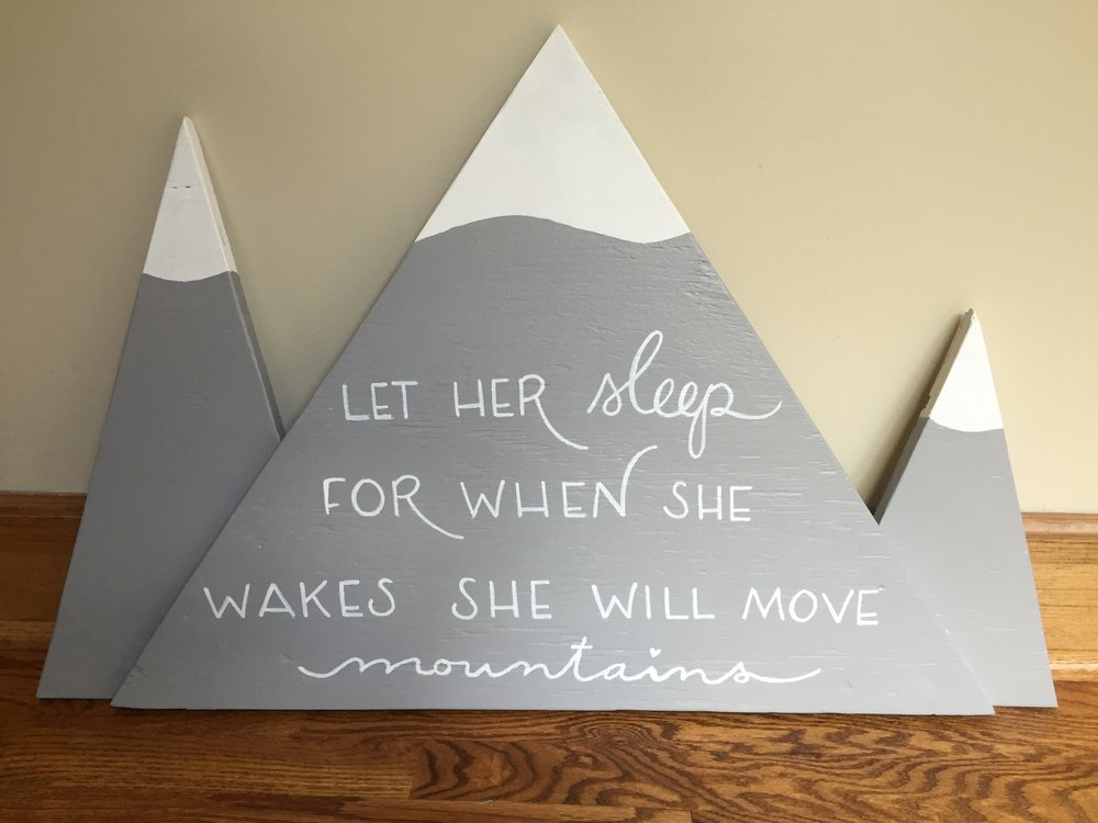 Custom Nursery Art