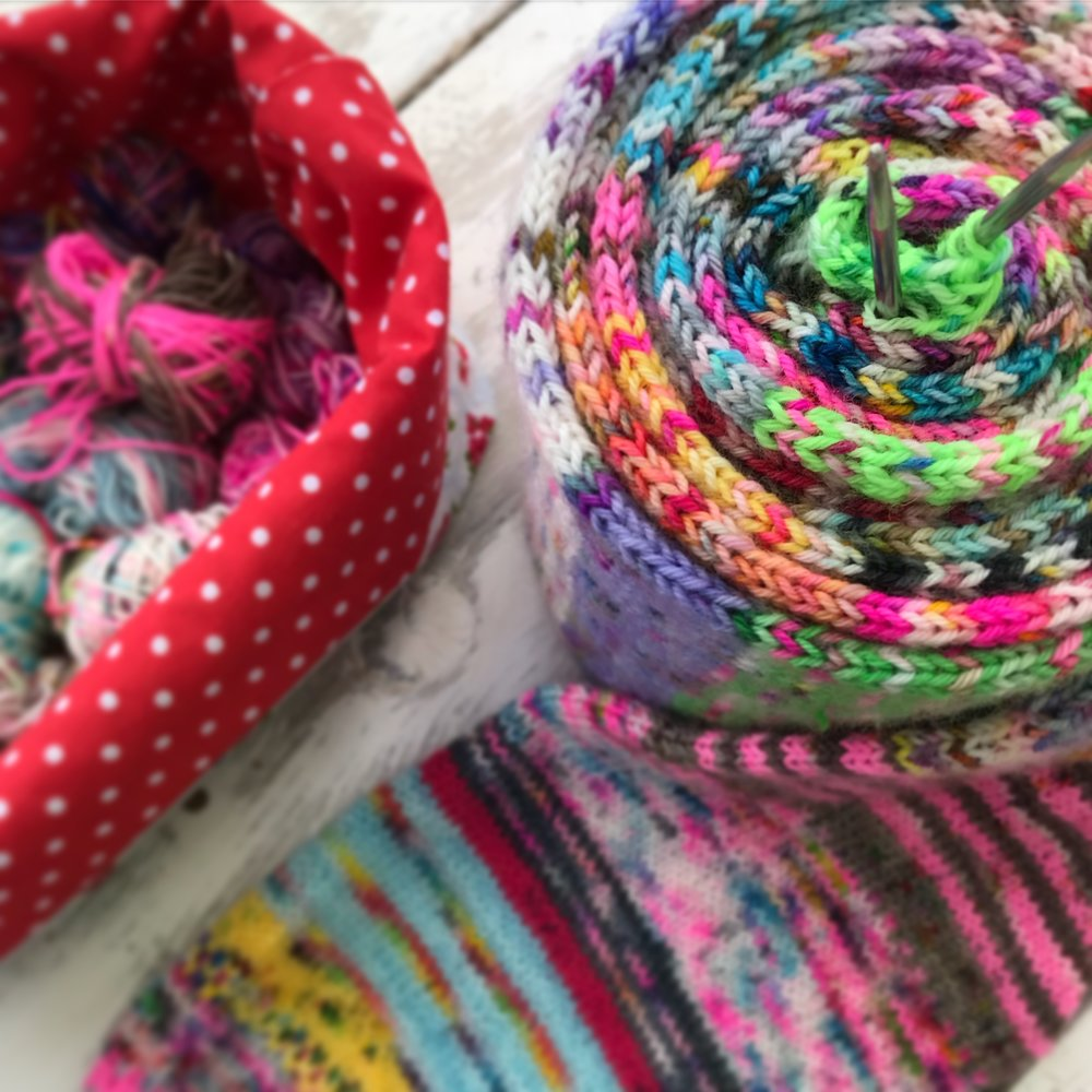 Tube Along?! - If you watch my Car Park Chats then you would have heard me wobble on about a Tube Along..........as if were all honest.......its my forte!! Tubes!When both the girls are back in School and I can get my knit together then I will let you know the details........I may even host a group on Ravelry!