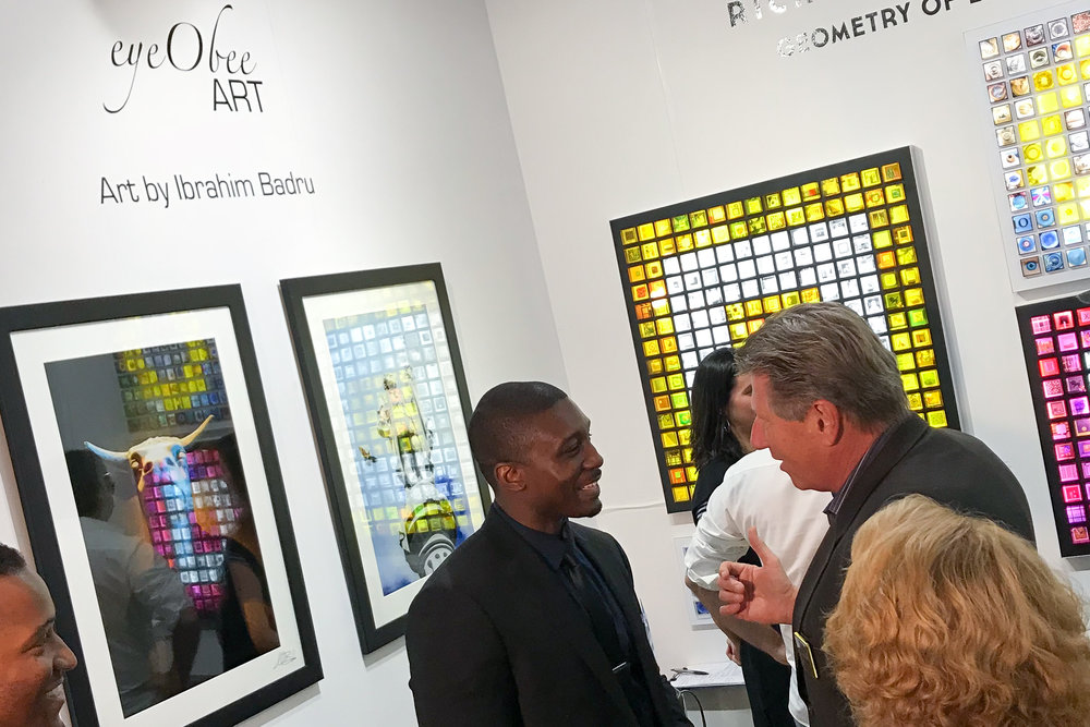Spectrum Miami Art Basel eyeObee Art by Ibrahim Badru Photo solo--2.jpg