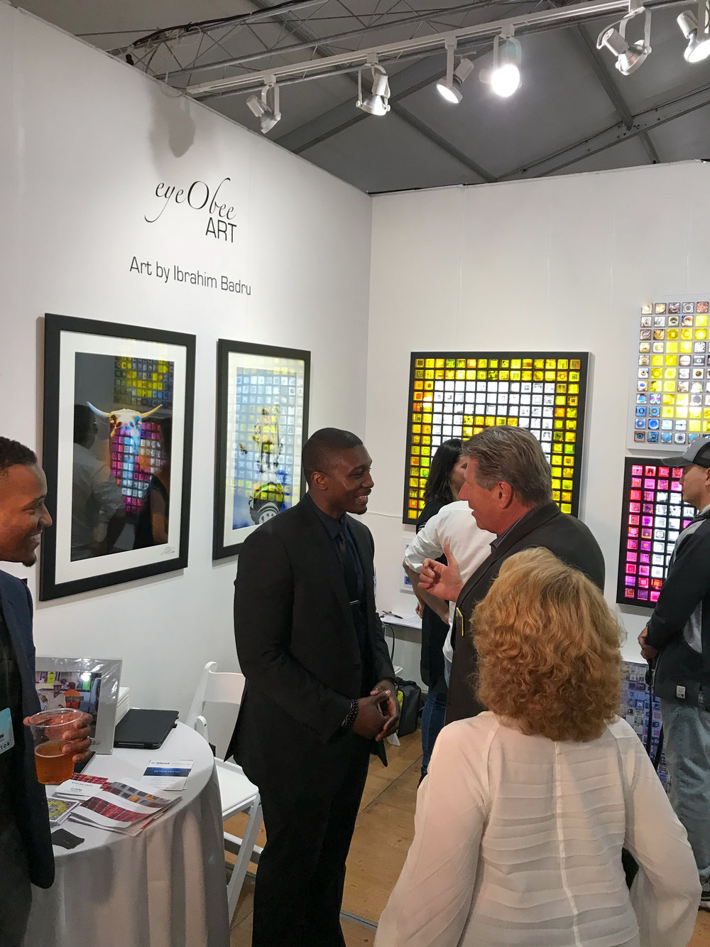 Spectrum Miami Art Basel eyeObee Art by Ibrahim Badru Photo solo-.jpg