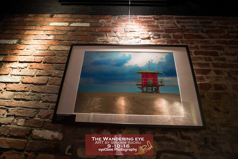 L2 Lounge DC - The Wandering Eye - Art by Ibrahim Badru - EyeObee ART