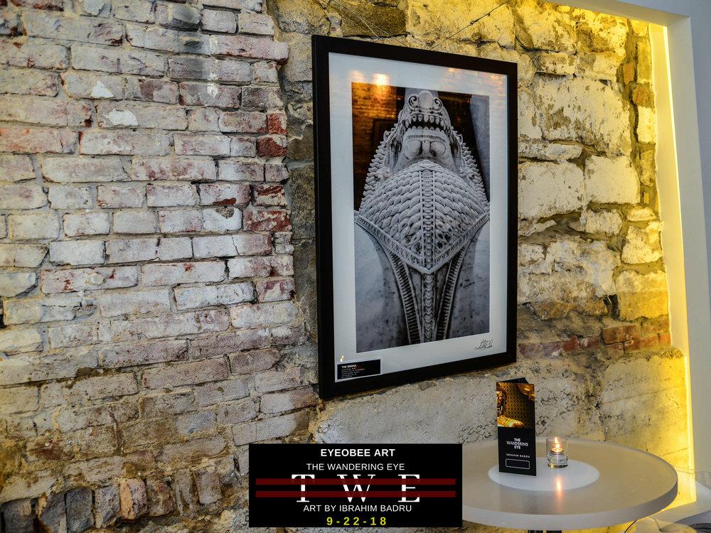 The Wandering Eye Art by Ibrahim Badru eyeObee ART Thailand dmv