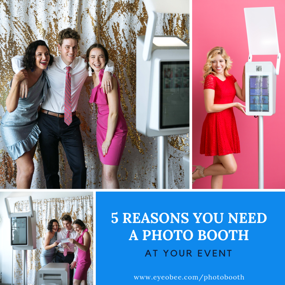Why you need a photobooth at your event wedding washington dc maryland eyeObee PhotoBooth