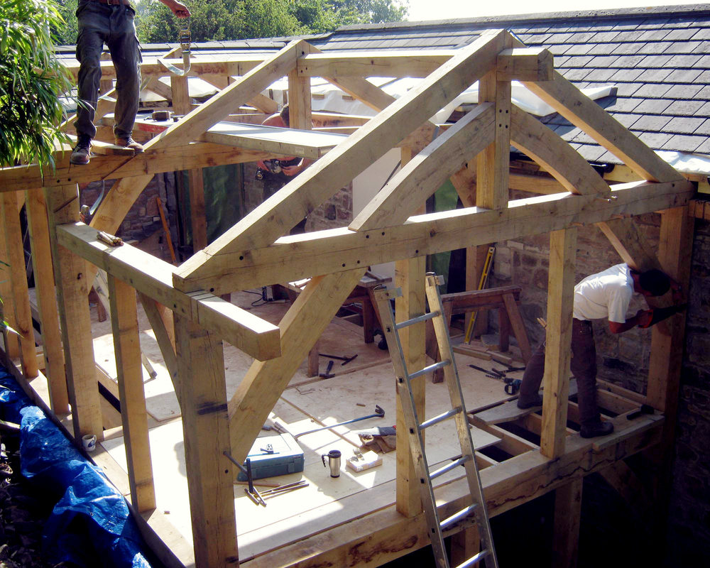 Our Work — The Green Oak Framing Company
