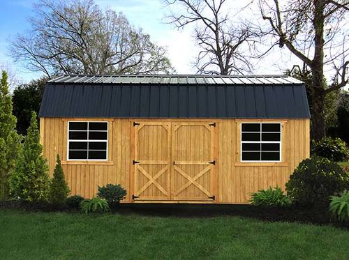 Garden Sheds 12x16 treated wood sheds — liberty storage solutions