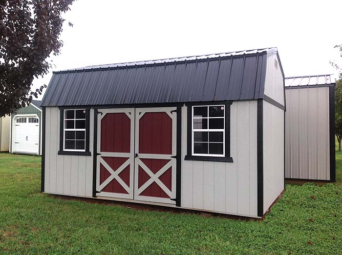 12x16 Lofted Garden Shed