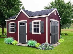 liberty storage sc dormer red greenjpg - Garden Sheds Greenville Sc