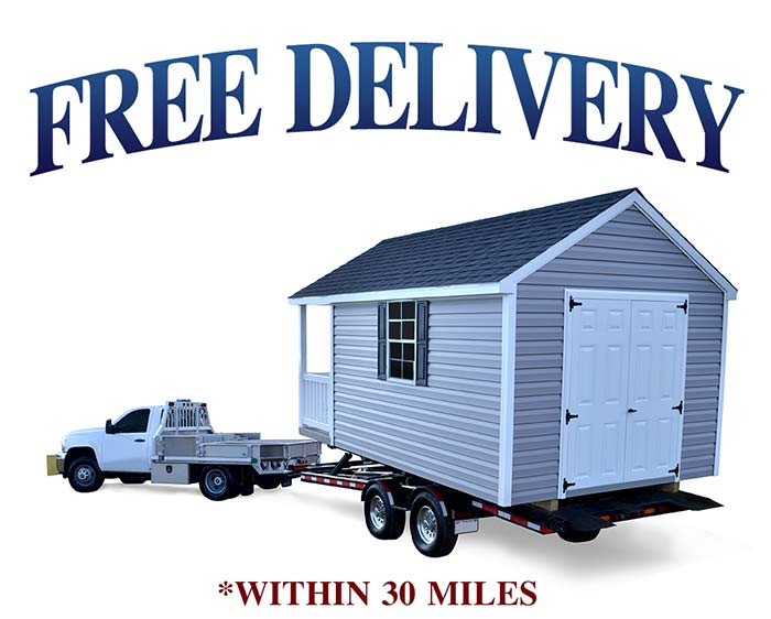 Shed Delivery Liberty Storage Solutions