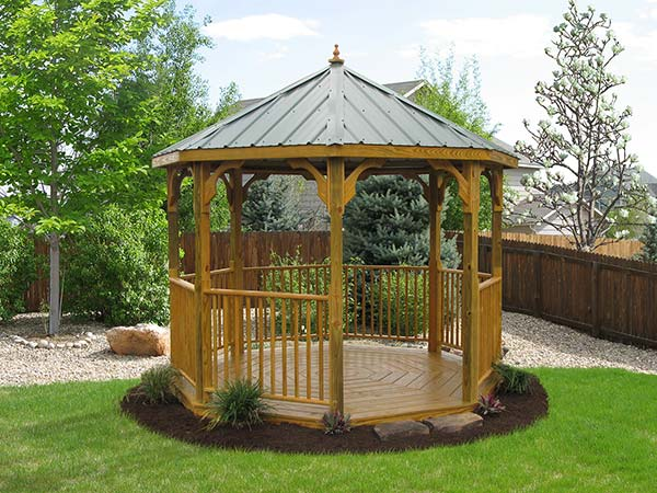 10x10 Wood Value Series Gazebo