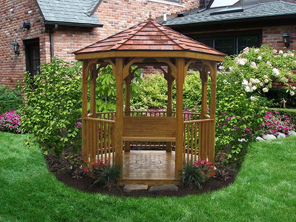 8x8 Wood Value Series Gazebo