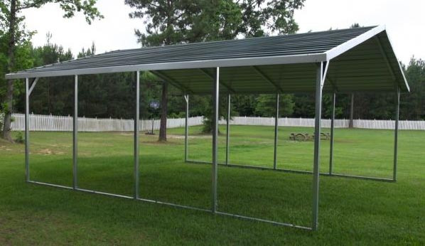 a frame carport