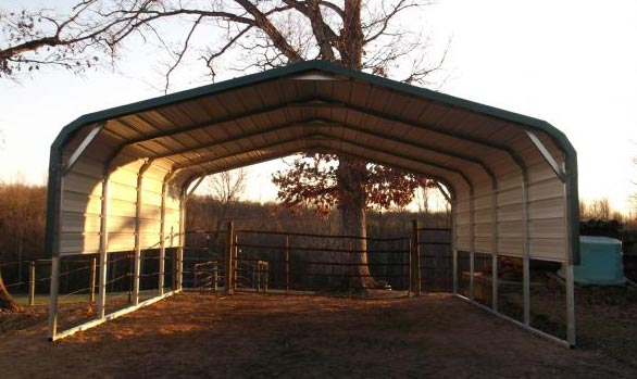 Bent Bow Carport
