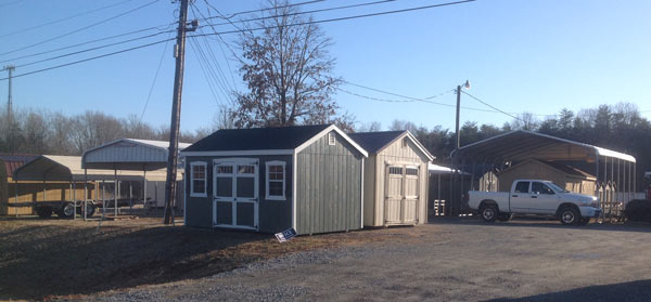 Storage sheds in Reidsville