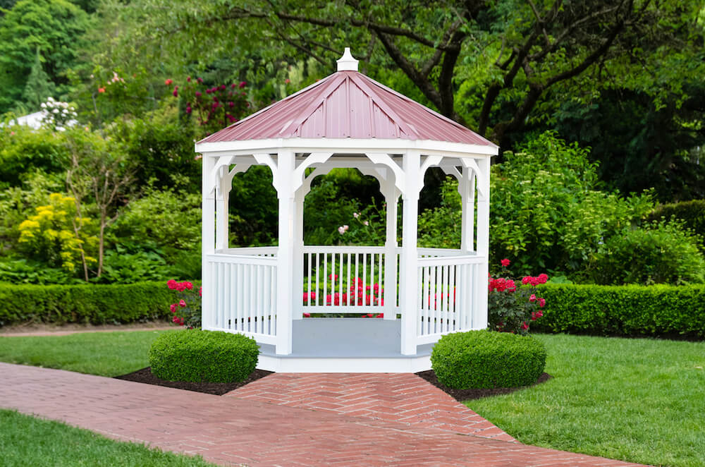 10x10 Vinyl Value Series Gazebo