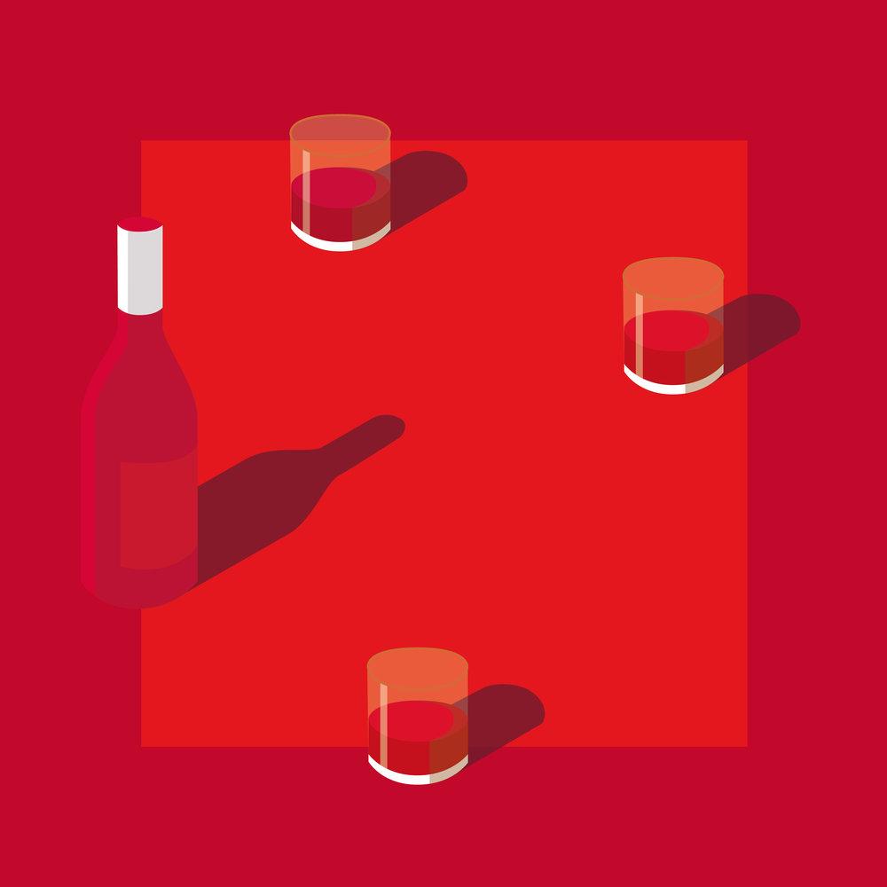 Happy Drinkin' Valentine #RedLove