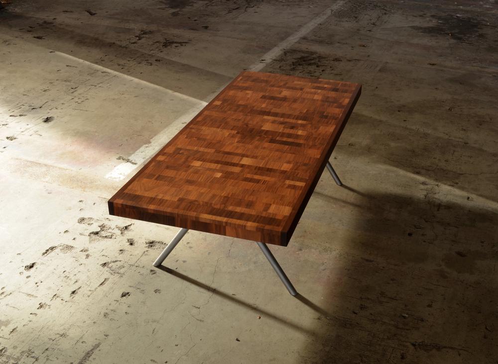 Variegated Walnut Coffee Table