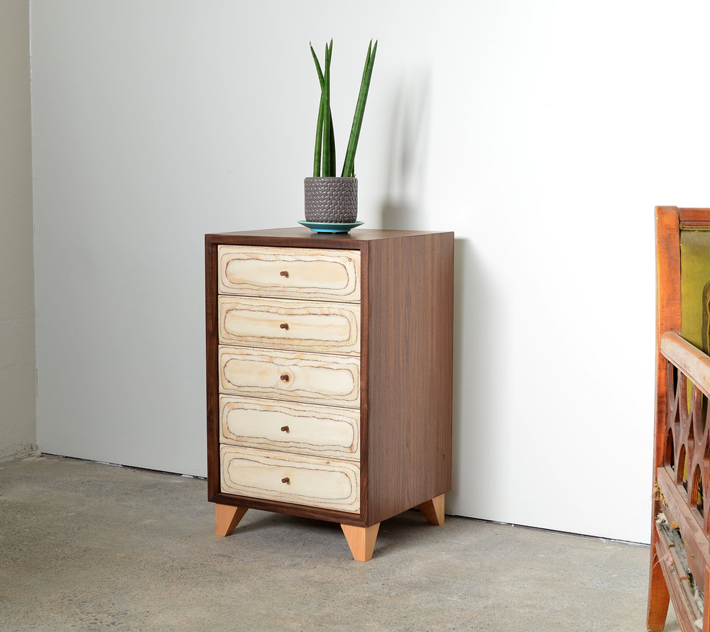 5 drawer side table