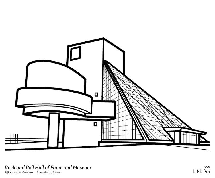 Cleveland Architecture Coloring Book — Designbelt