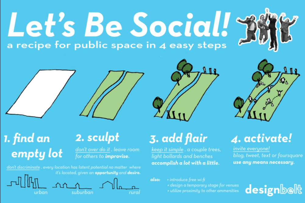 Designbelt - Lets Be Social