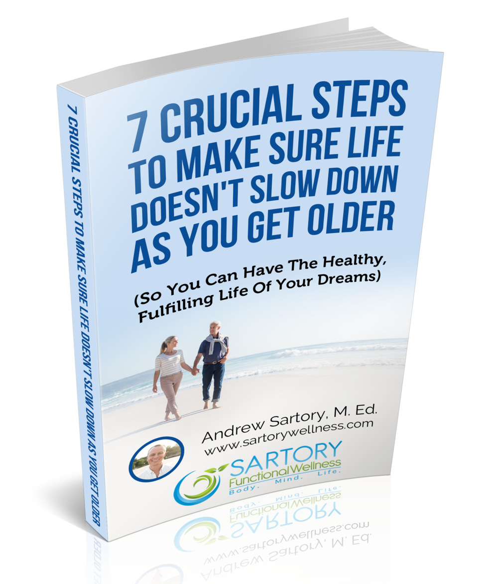 Reverse the effects of aging and feel more than ten years younger when you follow the 7 steps in the  free  eBook!