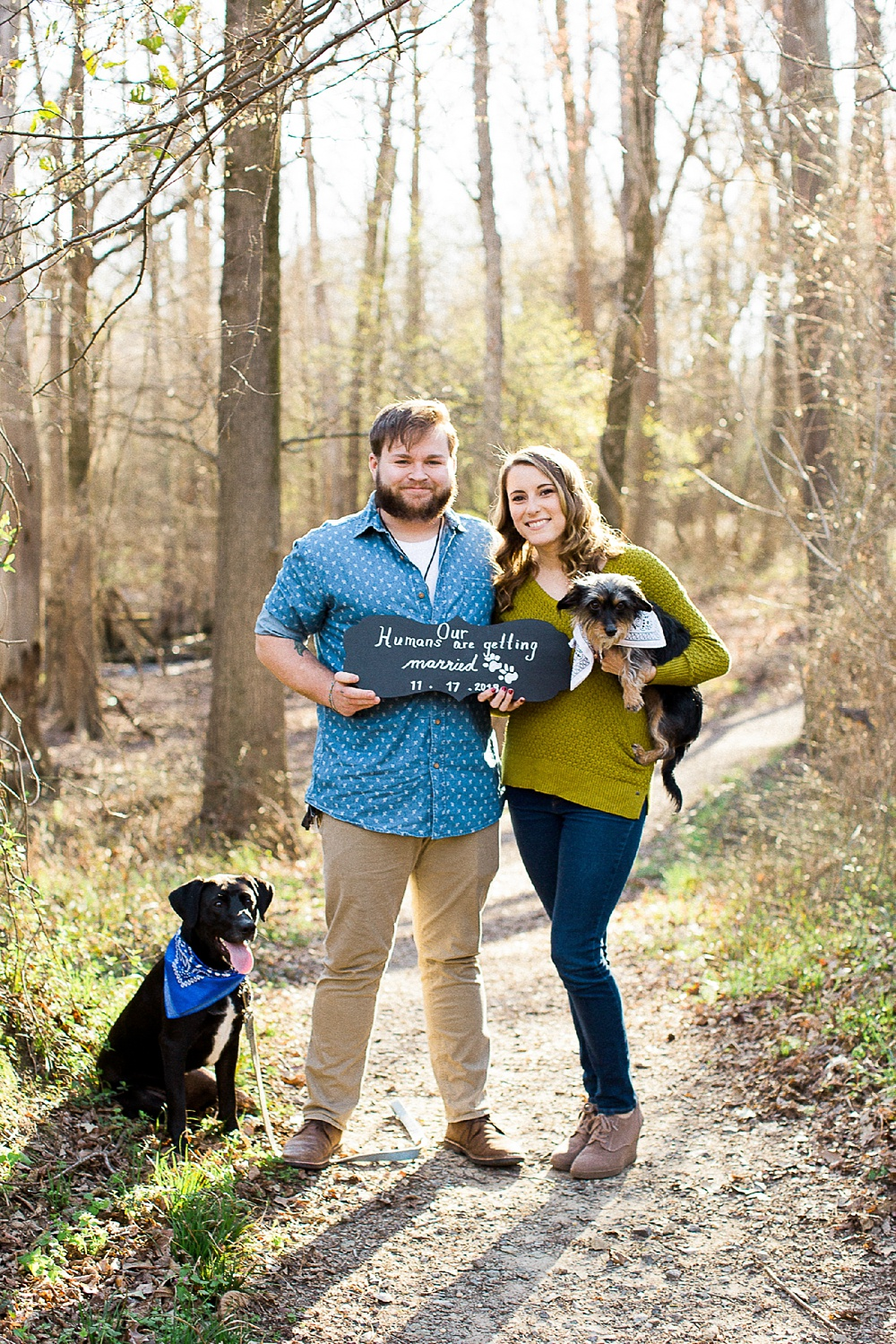 engagement session at old waynesborough park in goldsboro nc