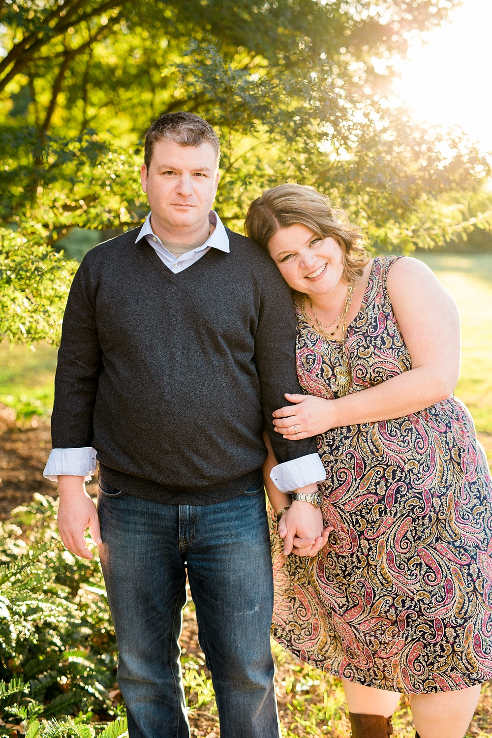 Engagement Session at NC State's JC Raulston Arboretum