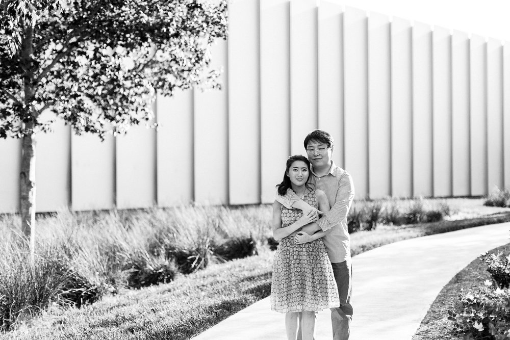 NCMA raleigh engagement session