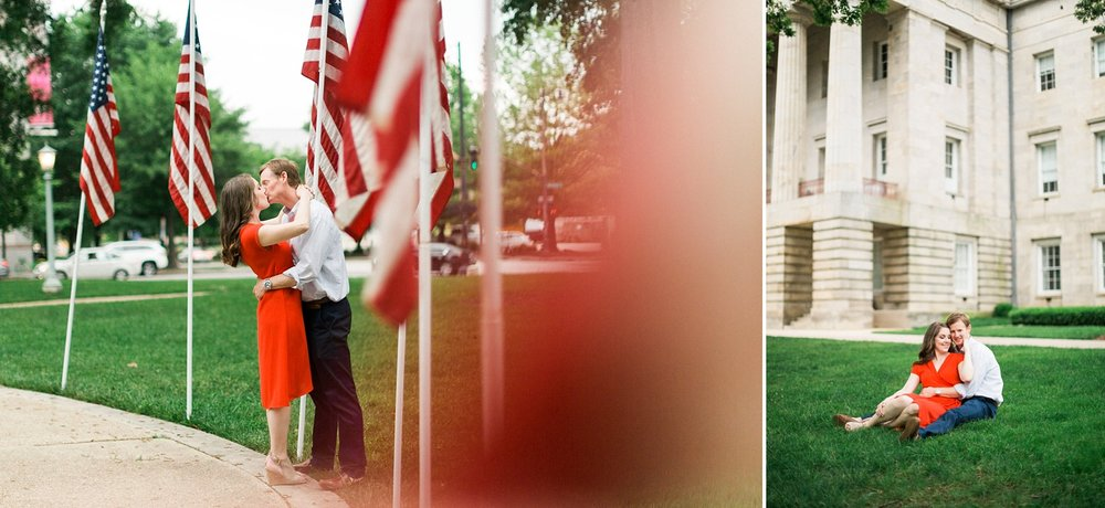 capitol building engagement session