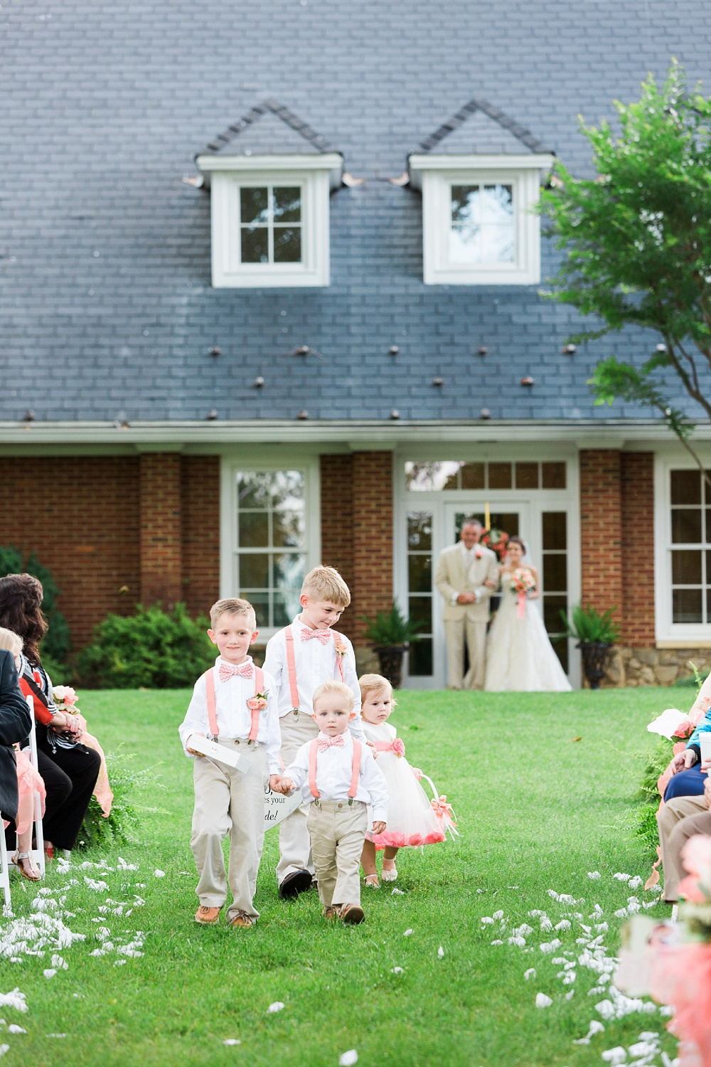 chatmoss country club wedding ceremony