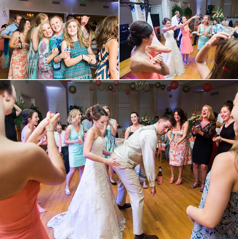 chatmoss country club wedding reception