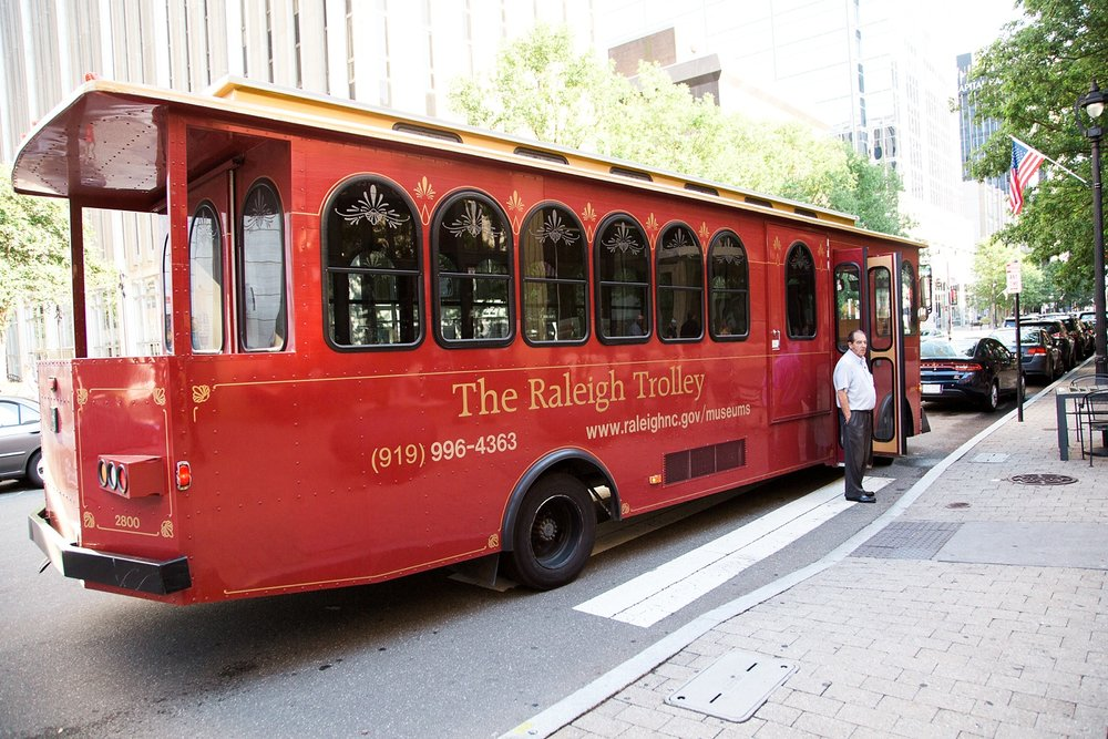 city of raleigh trolley