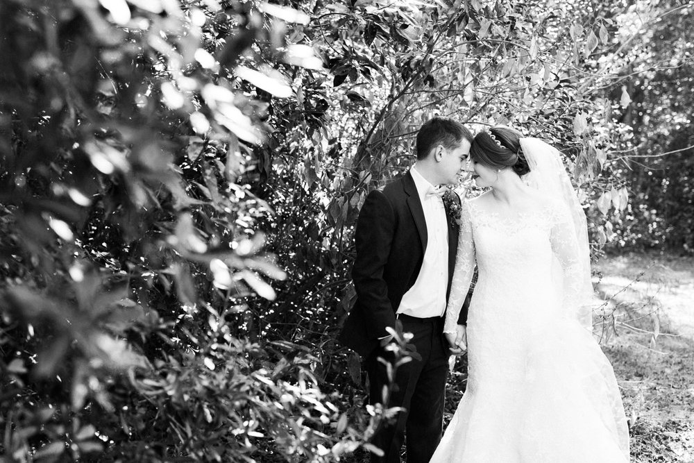 fall wedding at mike's farm in nc