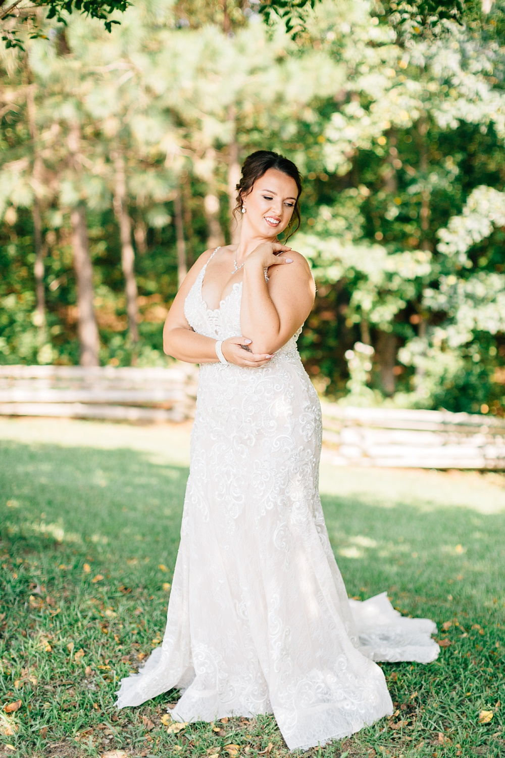 Summer Wedding at Shady Wagon Farm in New Hill, NC