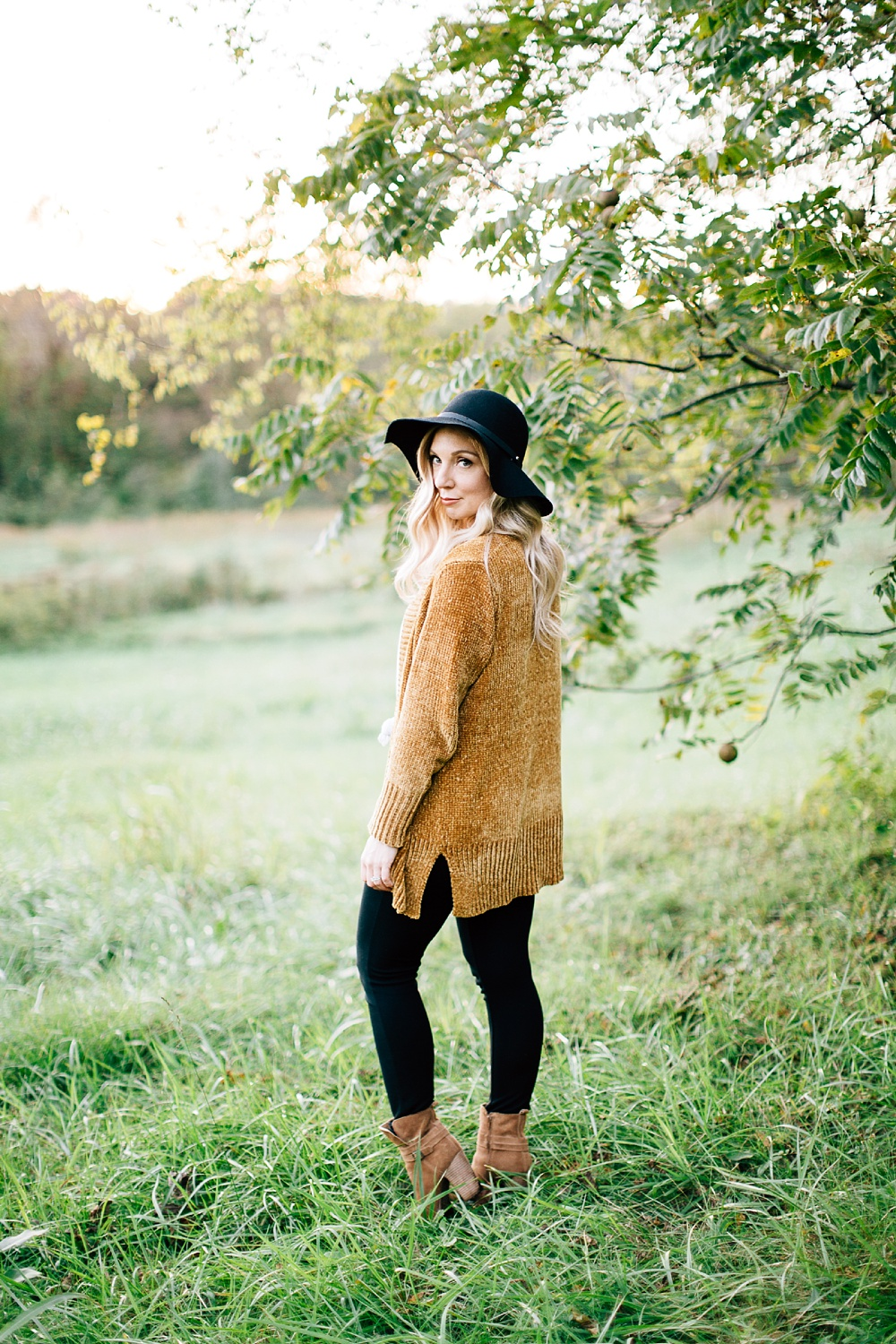 fall portrait session at merritt's pasture by rachael bowman photography
