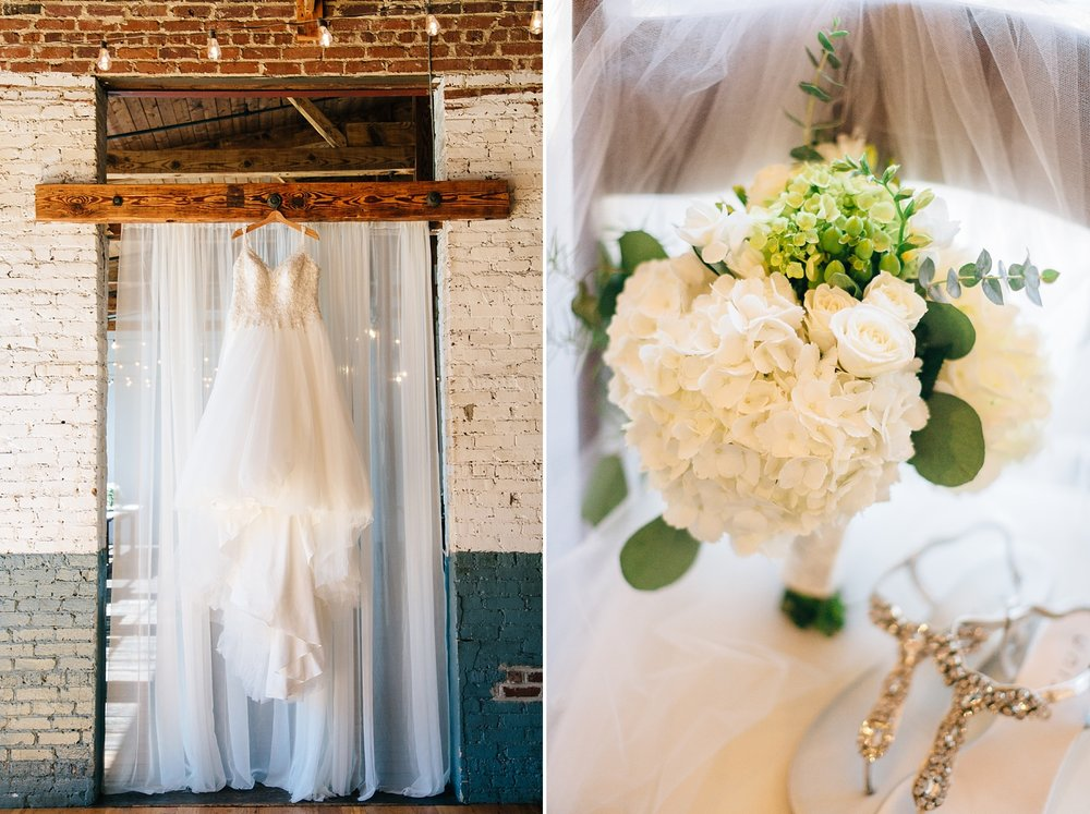 bridal details at forest hall at chatham mills by rachael bowman photography