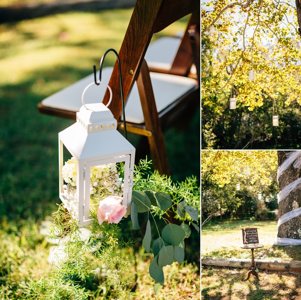 fall wedding ceremony decorations