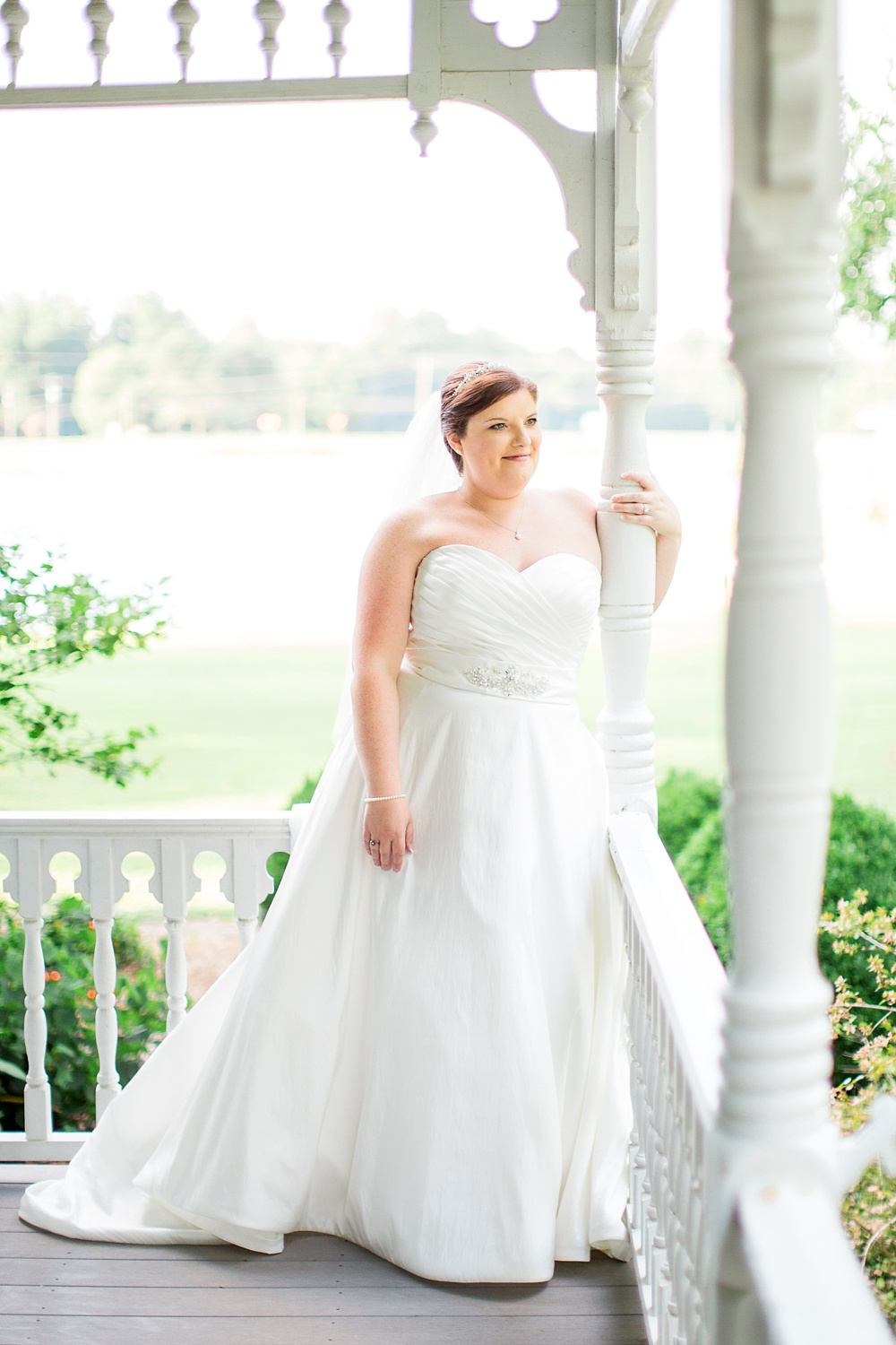 front porch bridal session by rachael bowman photography