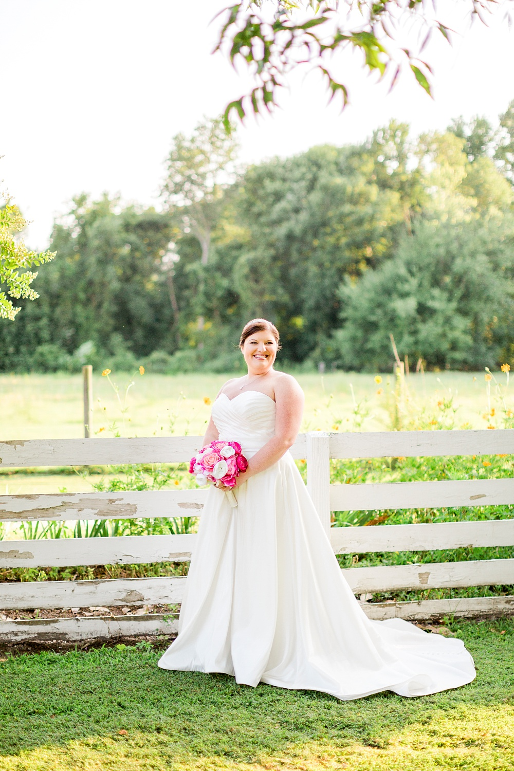 outdoor north carolina bridal session