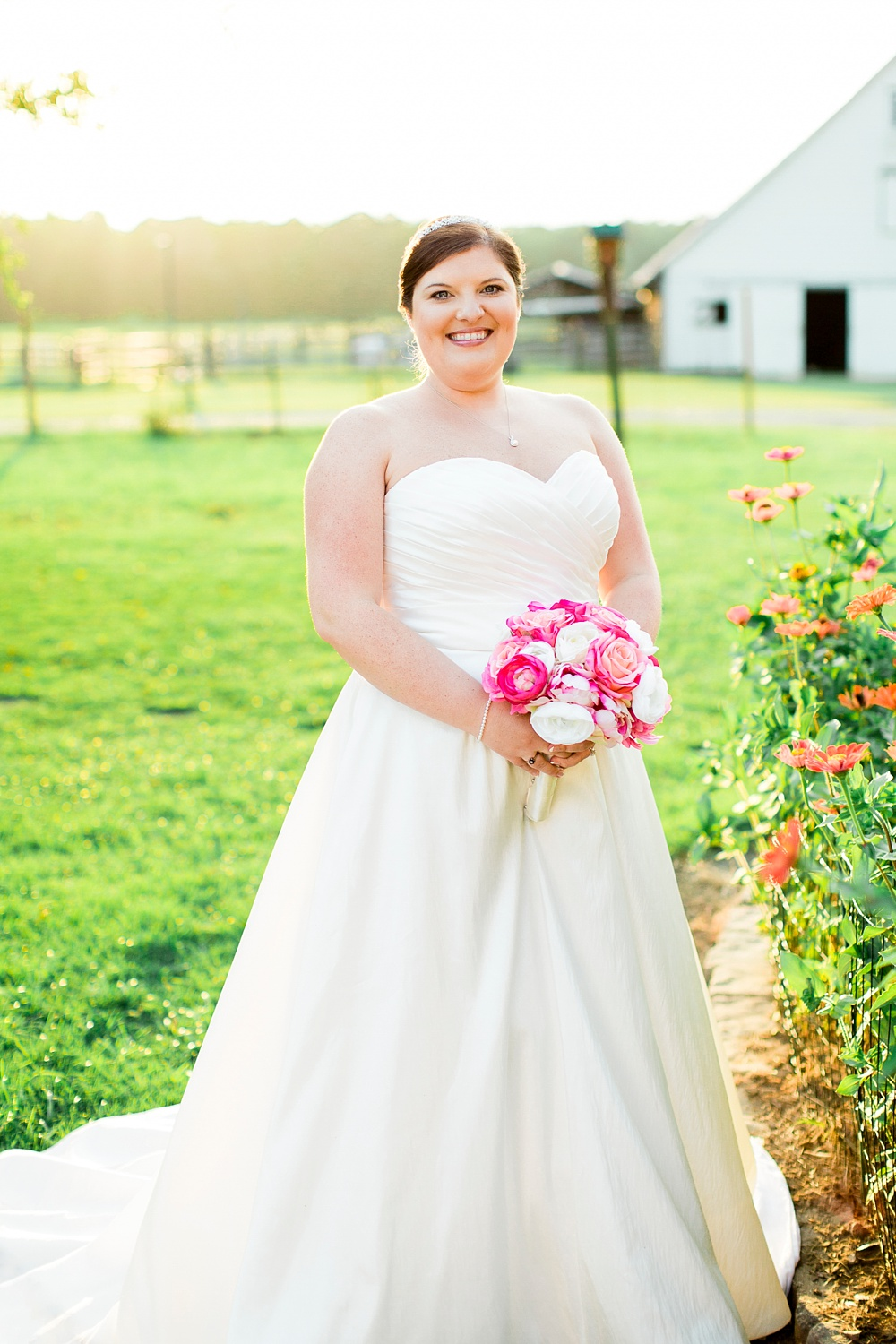 bridal session on a southern front porch by rachael bowman photography