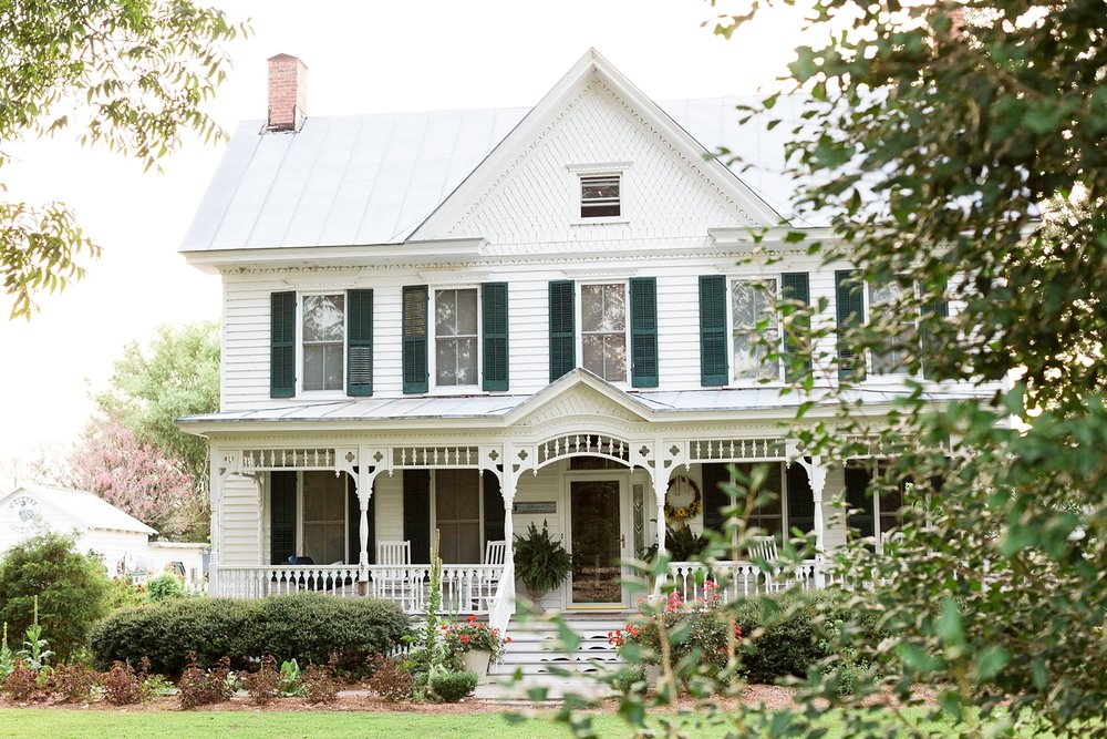 Springfield bed and breakfast hertford, nc by rachael bowman photography