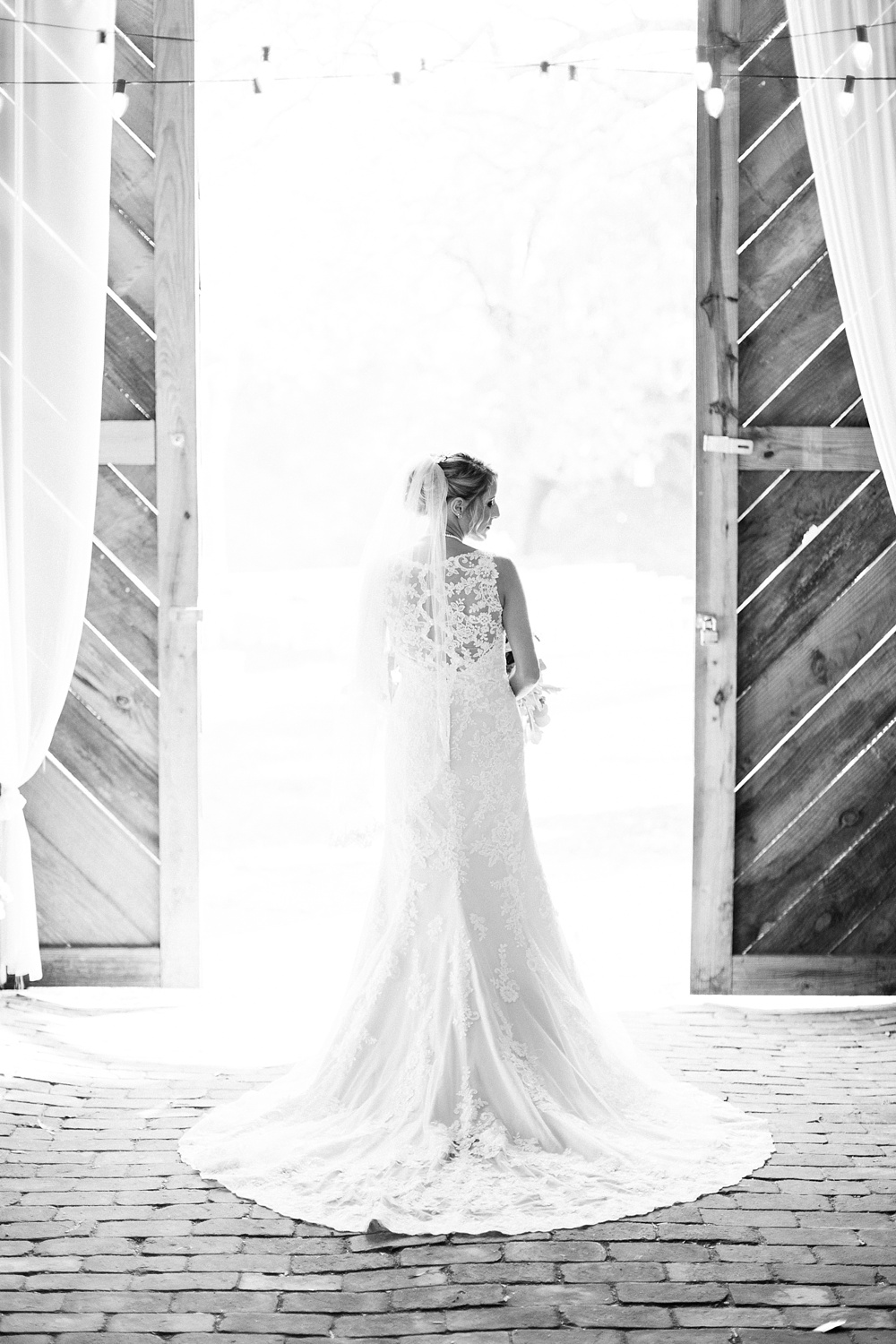 bridal portrait at goldsboro bridge battlefield by rachael bowman photography