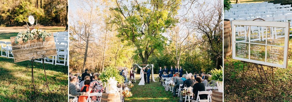 goldsboro bridge battlefield wedding ceremony