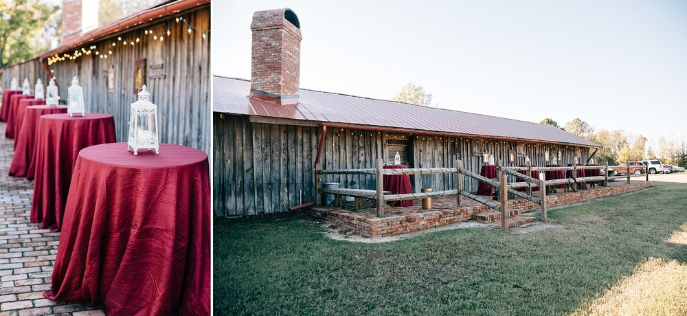 Fall rustic barn wedding at Goldboro Bridge Battlefield by Rachael Bowman Photography