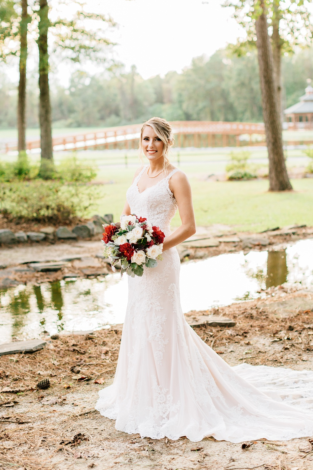 southern bridal portrait by rachael bowman photography