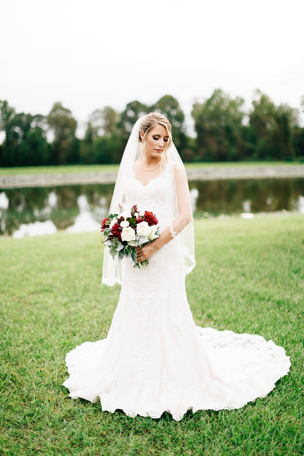 benton pond bridal session by rachael bowman photography