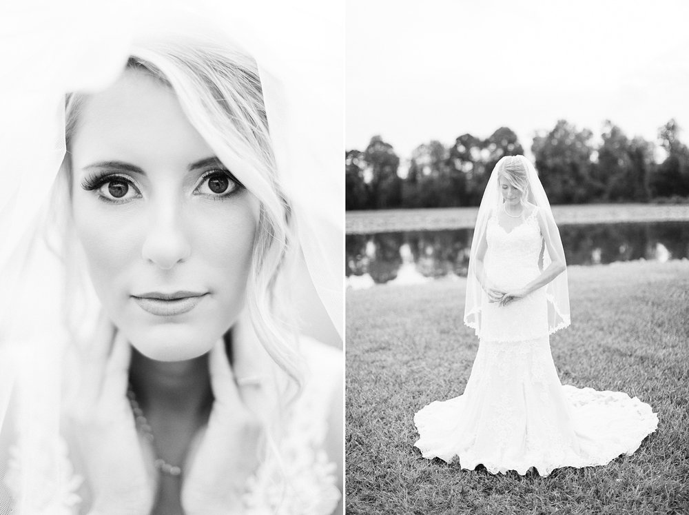 veiled bridal portrait by rachael bowman photography
