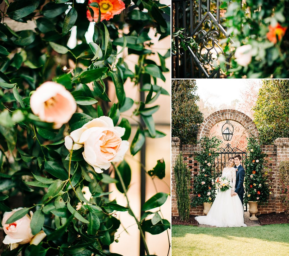 wedding in the gardens at the sutherland by rachael bowman photography