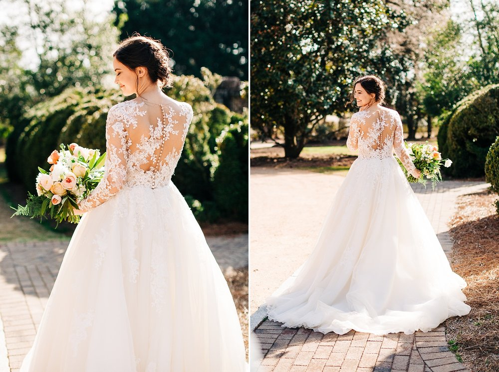 bridal session at the sutherland by rachael bowman photography