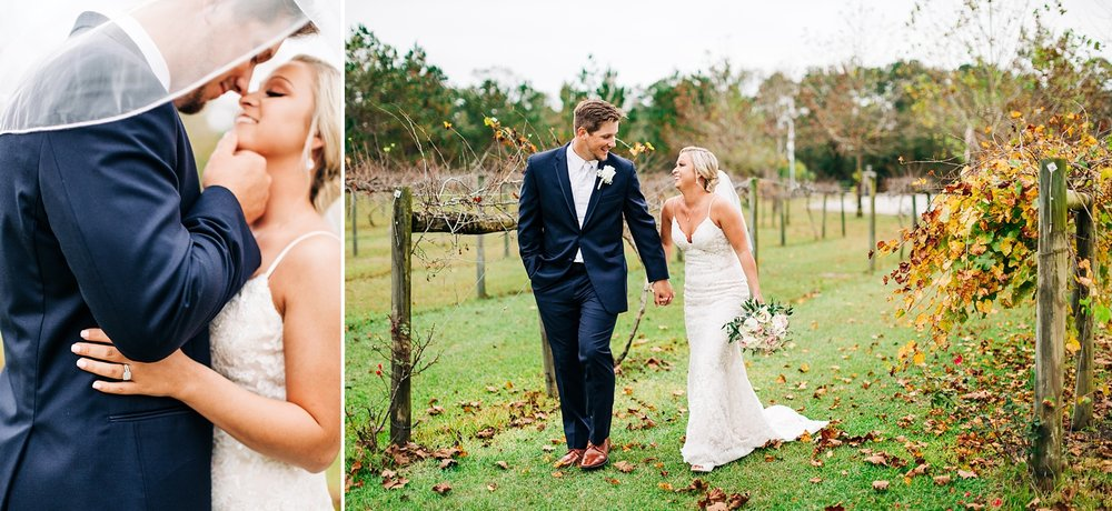 nc winery wedding by rachael bowman photography